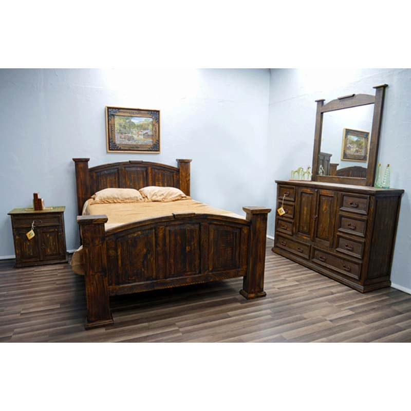 Million Dollar Rustic Bedroom Set