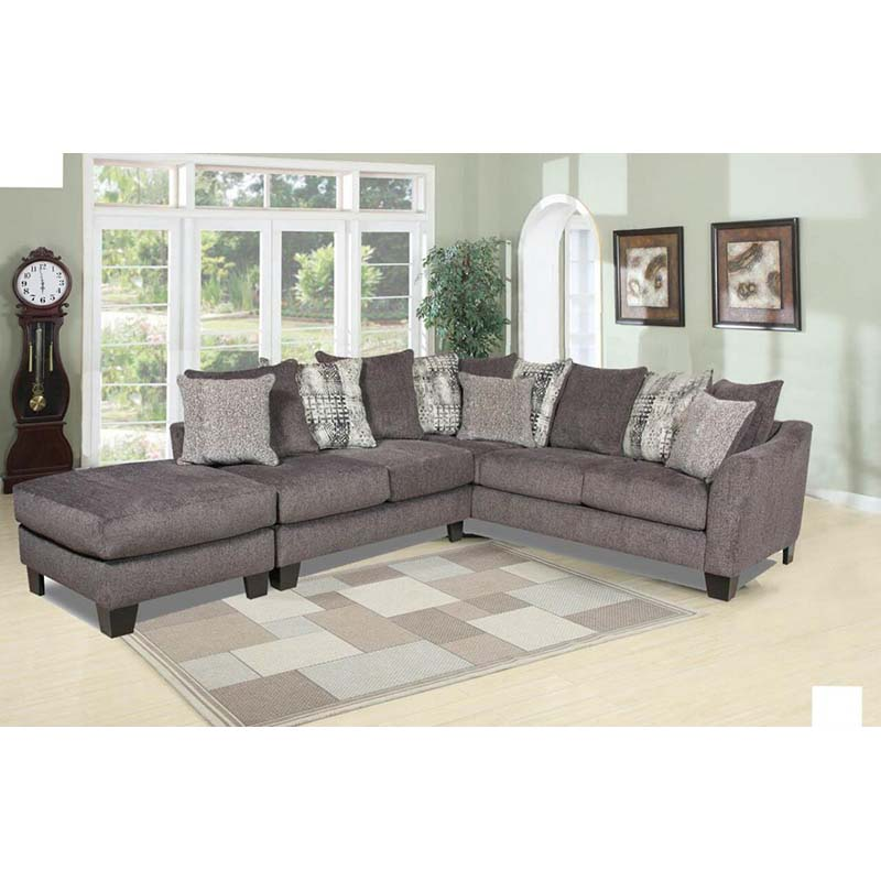 Albany 3-Piece Interchangeable Sectional