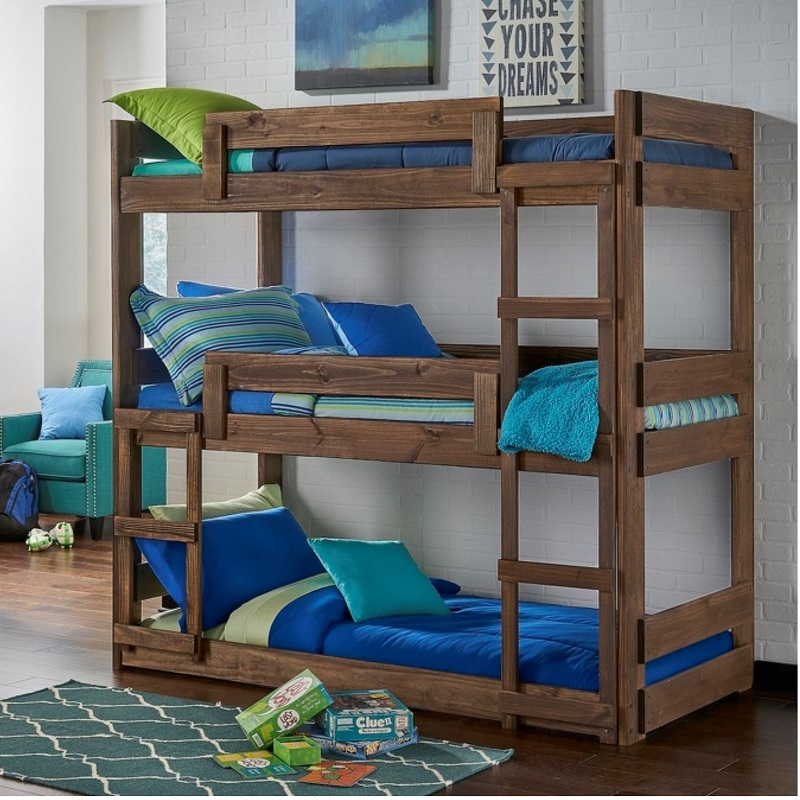 Simply Bunkbed Triple Bunk