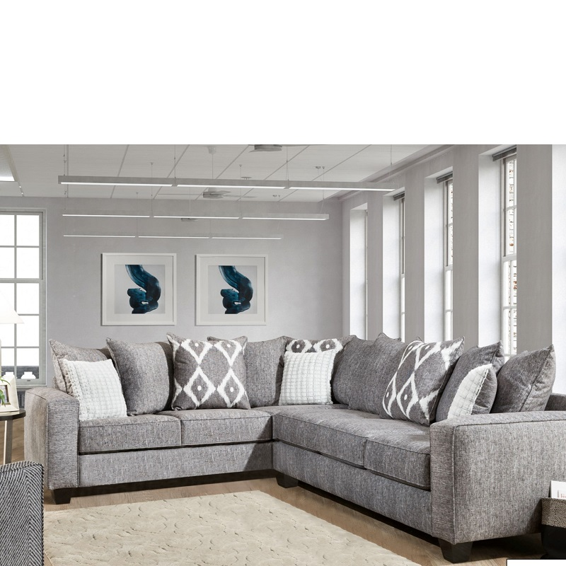 Albany 2-Piece Microfiber Sectional