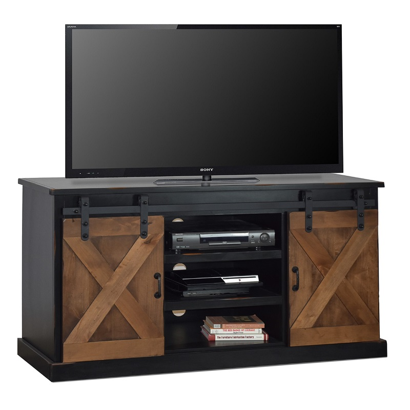 """Legends Two-Tone 66"""" TV Stand"""