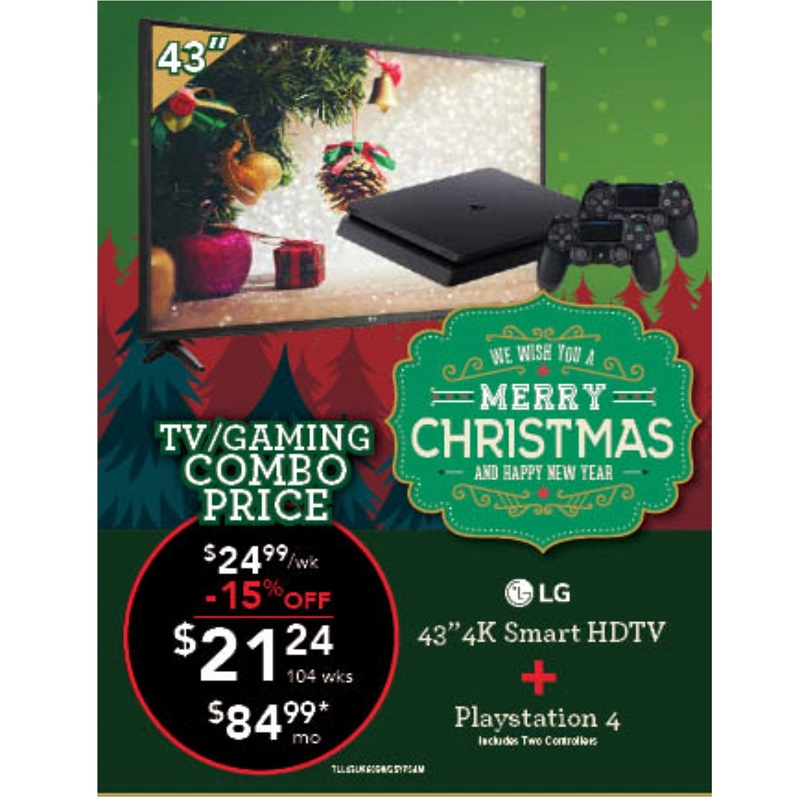 "TV Gaming Combo - 43"" TV with PS4"