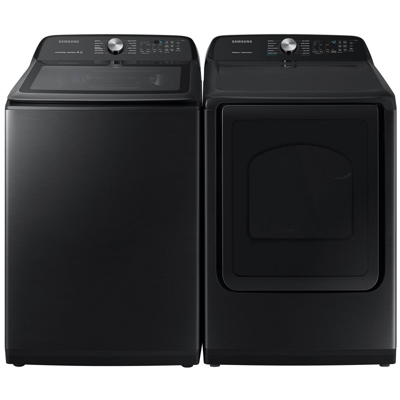 Samsung Large Capacity Black Stainless Pair