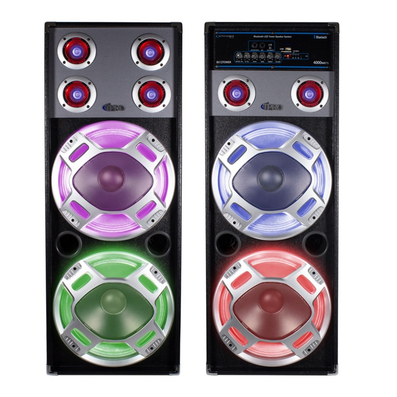 Bluetooth LED Tower Speaker
